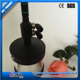 Taza fluidificada de la máquina de capa del polvo para el color del cambio