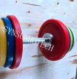 Strumentazione di forma fisica, maniglia olimpica di Dumbbell di stile