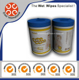 Álcool Livre Flushable Canister Cotton Baby Wet Wipes
