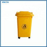 De openlucht HDPE Vuilnisbak van 13 Gallon van het Vervoer van de Uitvoer Plastic