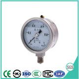 olio di 100mm - manometro riempito del manometro dell'acciaio inossidabile con l'alta qualità
