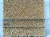 Filter van het Schuim van het zirconiumdioxyde de Poreuze Gesinterde Ceramische voor Gietende Filter 10-60 Ppi van het Ijzer