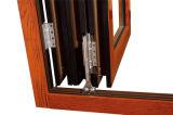 حبّة خشبيّة ألومنيوم قطاع جانبيّ لأنّ حراريّة كسر شباك نافذة