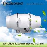 Lärmarmer Zange-Ventilator-Leitung-Ventilator 100mm