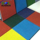 Ce сертифицирована для использования вне помещений игровая площадка безопасности резиновый коврик на полу