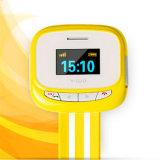 Montre-bracelet de bracelet de téléphone de Gelbert GPS SOS pour des gosses