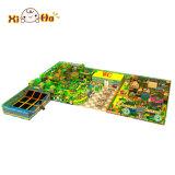 Sosta di plastica del castello del gioco della trasparenza dei bambini della strumentazione dell'interno poco costosa del gioco