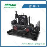 Refrigerado por aire de pistón de alta presión del compresor de tornillo (seris dv/dt)