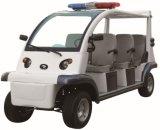 CER nachgewiesener Polizeiwagen mit elektrischem Strom