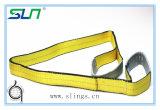 2017 corrrente de levantamento do estilingue do Webbing do poliéster de 10 toneladas
