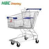L'acier revêtement poudre Chariot de supermarché