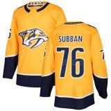 2018 Nova Marca homens Lady Kid predadores de Nashville 76 P. K. Subban 62 Trevor Murphy 28 Andrew O'Brien Juuse Saros Amarelo qualquer nome personalizado & N. Hockey camisolas
