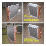 Caldeira de madeira ao ar livre de ar permutador térmico água