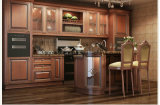 古典的なチェリーの台所デザイン