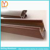 الصين مصنع محترفة ألومنيوم بثق قطاع جانبيّ مع إنتقال خشبيّة
