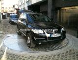 Plataforma de giro elétrica do carro para o estacionamento
