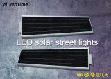 60watt alle-in-Één Geïntegreerdex Openlucht LEIDENE van de Lamp van de Tuin Sunpower Straatlantaarn