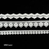 Testo fisso del merletto del ricamo del poliestere/testo fisso di cucito del merletto/testo fisso operato L182 del merletto del ricamo