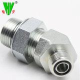 油圧ホースフィッティングおよびアダプターのカートンの鋼鉄油圧コネクターの付属品