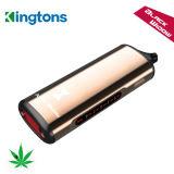 Kingtons E cigarrillo ventas fábrica China negro de la ventana de hierba seca vaporizador con garantía de calidad