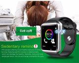 人間の特徴をもつA1のためのSIMのカードスロットが付いている最も安くスマートな腕時計の電話