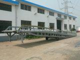 熱い販売の移動式油圧鋼鉄ヤードの傾斜路