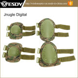 Ajustable Airsoft Tactical Protective Knee + Codo Pad