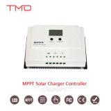 Fabricante do controlador solar 15A 20A 30A 40A 50A da carga de 12V 24V MPPT