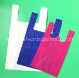 Мешок тенниски изготовленный на заказ поставкы фабрики Eco-Friendly Non сплетенный, хозяйственная сумка
