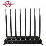 8 Antenas Refrigerado Bloqueador Professional; GSM, CDMA, 3G UMTS, 4glte, сотовые телефоны, WiFi/Bluetooth, 4gwimax, кражи Lojack/сигнал GPS перепускной блокировщика всплывающих окон