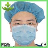 3-vouw het Chirurgische Beschikbare Masker van het Gezicht Earloop Tie-on Headloop