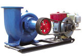 Farm Drainage Mobile PumpのためのCouplingのディーゼルPower Irrigation Pump Set