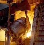 炉の鋳造ひしゃく
