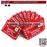休日の装飾の赤のフェルトのエンベロプの刺繍のクリスマスの装飾(B5089)
