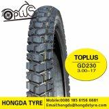 Hot Sale modèle populaire, de pneus pour motos de pneus pour motos 275-17, 225-17, 300-17, 300-18