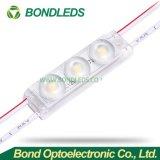 1,8 W 3 LED SMD2835 180lm High-Brightness módulo LED LED impermeable para firmar /caja de luz