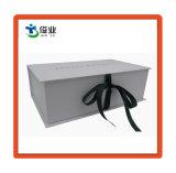 단화 입기를 위한 리본을%s 가진 주문 서류상 선물 상자
