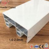 Perfil de la construcción de una aleación de aluminio con ventana