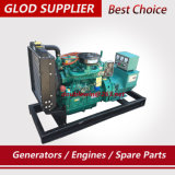 24kw 4개의 실린더 디젤 엔진 100% 구리 Alterantor를 가진 디젤 엔진 발전기 30kVA 가격