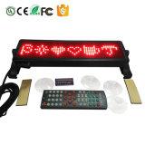 Alta luminosità 848 mini Multi-Linguaggi del tabellone di serie del segno dell'automobile del LED con il regolatore del periferico di IR