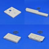 良い磨かれた小さな溝圧力抵抗Al2O3のアルミナの陶磁器の版の製造業者