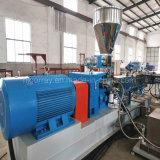 Plastic TweelingSchroef die de Lijn van de Granulator met de Prijs van de Fabriek uitdrijven