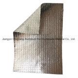 耐火性アルミホイルのガラス繊維ファブリックによって薄板にされるD'isolation