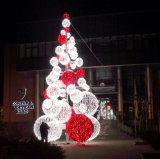 H: 20FT im Freien Lichter des Feiertags-Grün-Weihnachtsbaum-LED