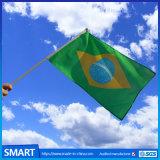 ポリエステル小さい広告の昇進すべての国の手持ち型のフラグ