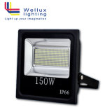 De openlucht IP66 150W 90 LEIDENE Lm/W SMD Lamp van de Vloed met Bestuurder Meanwell en Spaanders Osram 5 Jaar van de Garantie