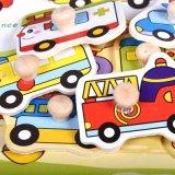 As crianças de madeira de desenhos animados de brinquedos educativos cores geométrica Animal Puzzle