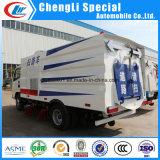 Clw 4X2 Dongfeng 5cbm 스테인리스 물 탱크 도로 스위퍼 트럭