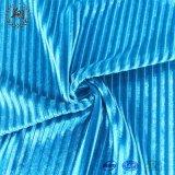 Het textiel Koreaanse Fluweel van de Polyester met het Ontdoen van Goed drapeert Effect Zacht wat betreft de Stof van de Pyjama's van de Kleding van de Sportkleding