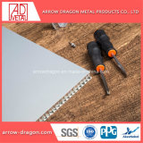 Revestimento a pó insonorizada Atérmico alumínio alveolado painéis para Exposição// luminária de painel de infill